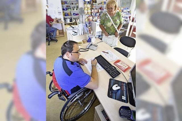 Chance für behinderte Menschen