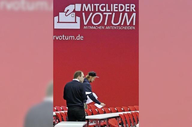 SPD-Basis ist entzweit