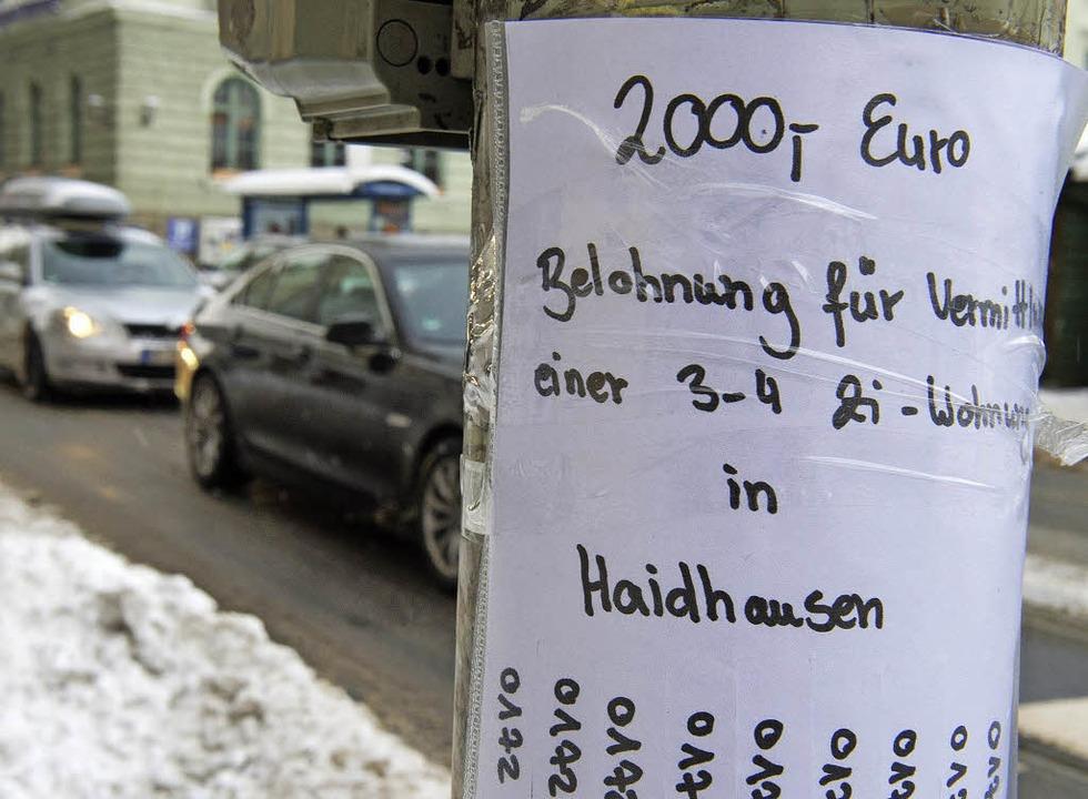 Extrem begehrtes Gut – Wohnung in München  | Foto: DPA Avis
