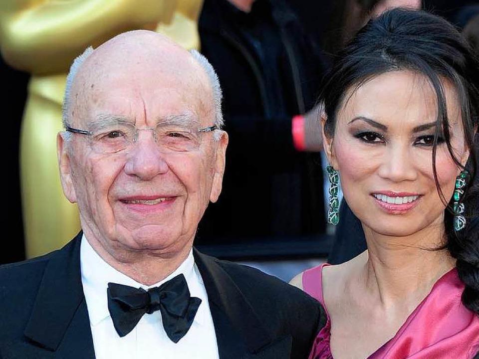 Rupert Murdoch und Wendi Deng<ppp></ppp>  | Foto: dpa