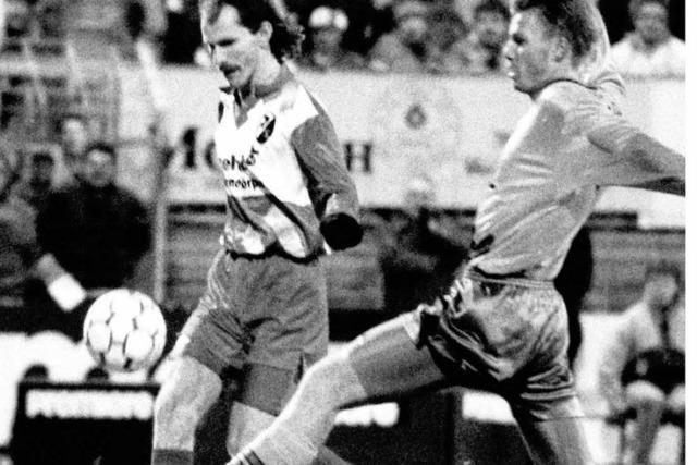 Drei Tore gegen Bayern: So schrieb Uwe Wassmer SC-Geschichte