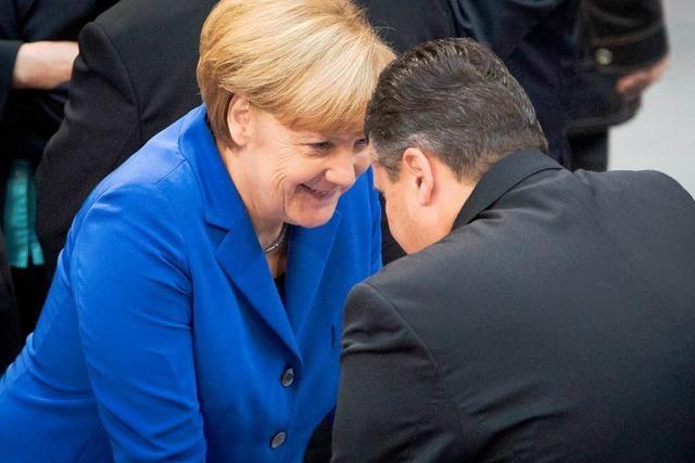 Spitzen von Union und SPD einigen sich auf Koalitionsvertrag