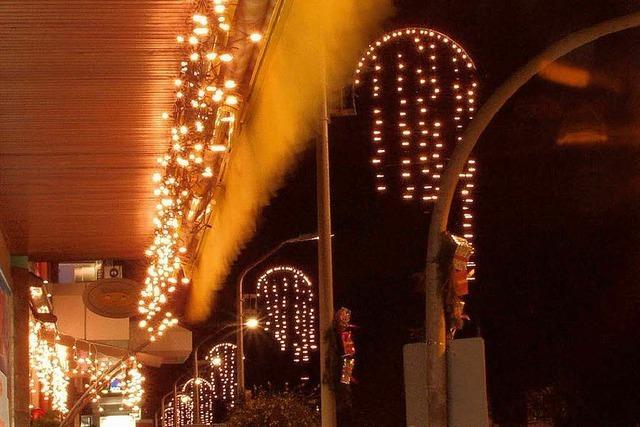Kritik an der fehlenden Weihnachtsbeleuchtung