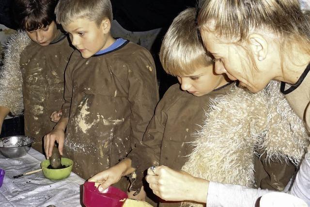 Malen und kochen auf Europäisch