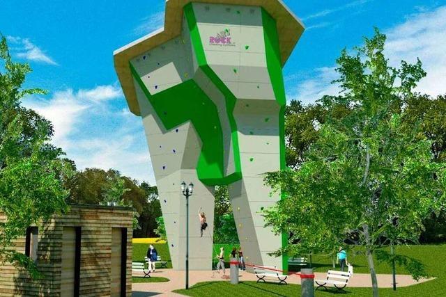 Der Kletterturm in Lahr kann gebaut werden
