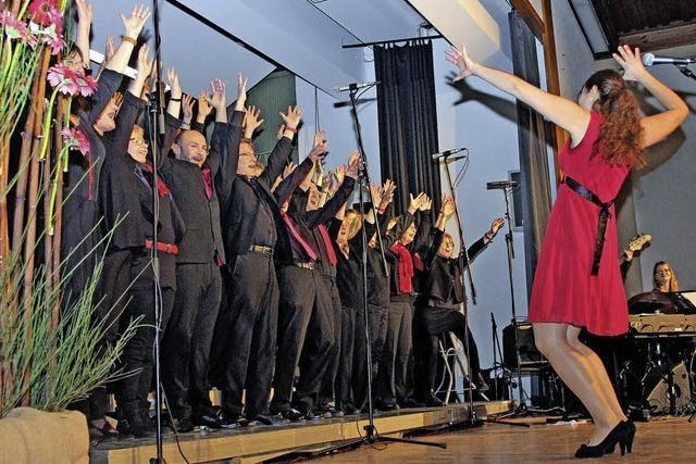 Der Spaß am Singen überträgt sich