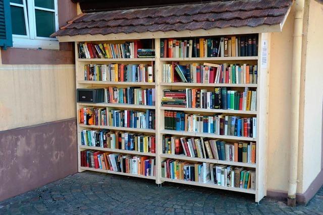 Lesen und spenden erhofft