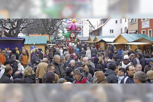 Weihnachtsmarkt mit vielen Facetten
