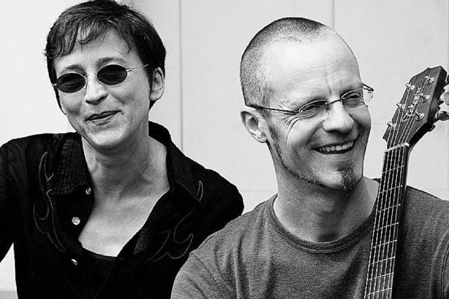 Anne Ehmke und Daniel Vogel im Café Fräulin