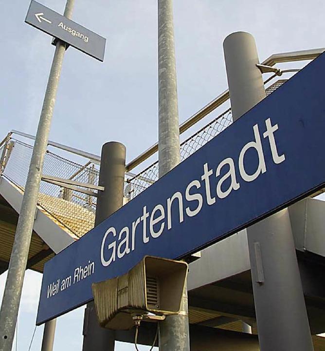 Wann halten Züge künftig in der Gartenstadt?   | Foto: Lauber