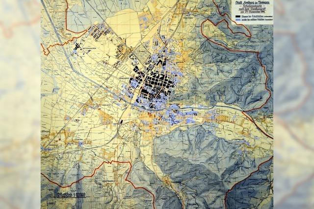 Bombenangriff auf Freiburg im November 1944: