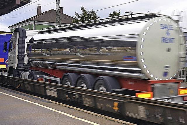 Güterzüge werden leiser