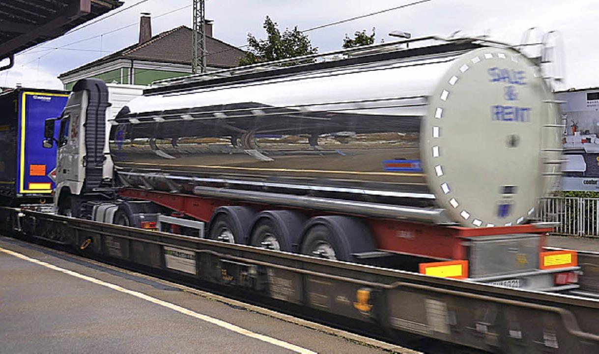 Mit den neuen Bremssohlen  werden die Züge  leiser.   | Foto: Babeck-Reinsch