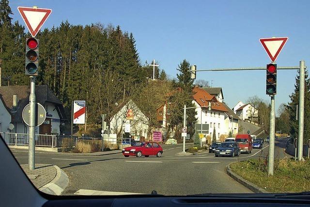 Ampelregelung in Hauenstein wird überprüft