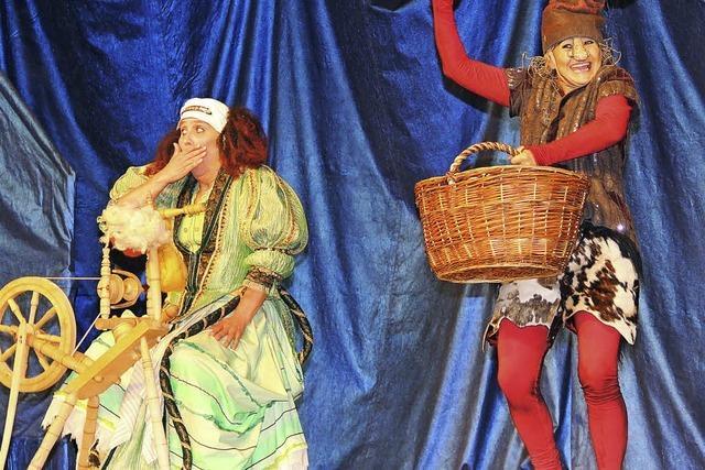 """Das Theater Mimikri begeisterte mit dem Märchen """"Rumpelstilzchen"""" die Kinder"""
