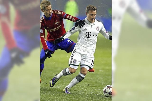Frost für Bayern, Frust für Bayer