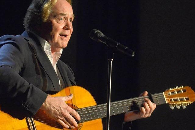 Klaus Hoffmann in Freiburg: Sing nochmal die alten Lieder