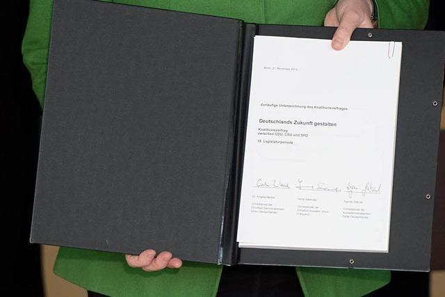 Der Koalitionsvertrag: Ein Papier, drei Perspektiven