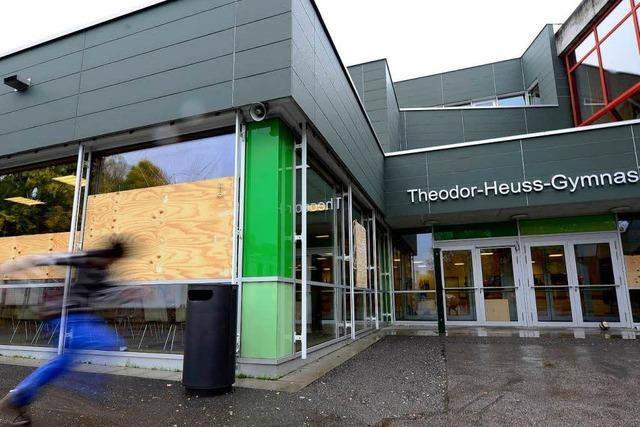 Erneut Scheiben an Theodor-Heuss-Gymnasium eingeschlagen