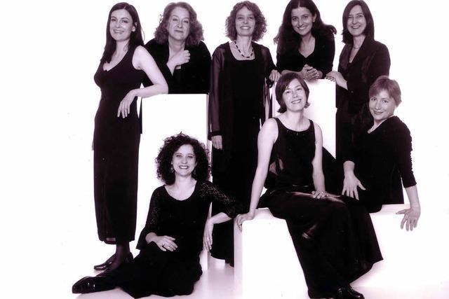 """Das Ensemble """"Canto Amabile"""" tritt in der Kulturscheune Rabe in Kleinkems"""