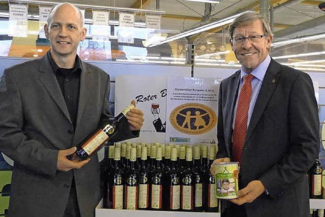 Weinverkauf hilft krebskranken Kindern