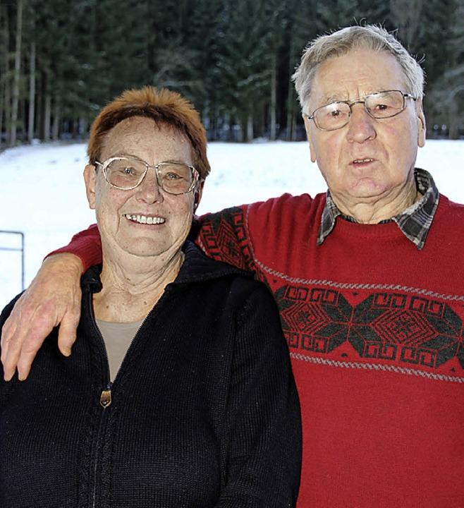 Erika und Edelbert Willmann sind seit 50 Jahren verheiratet.     Foto: Eva Korinth