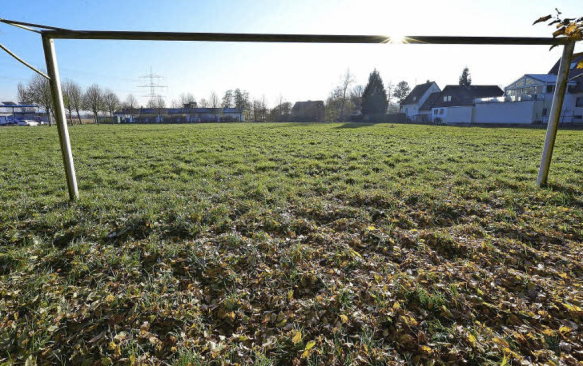 Mehr Tobewiese als Fußballplatz: der &...ebauung soll eine Freifläche bleiben.   | Foto: Ingo Schneider