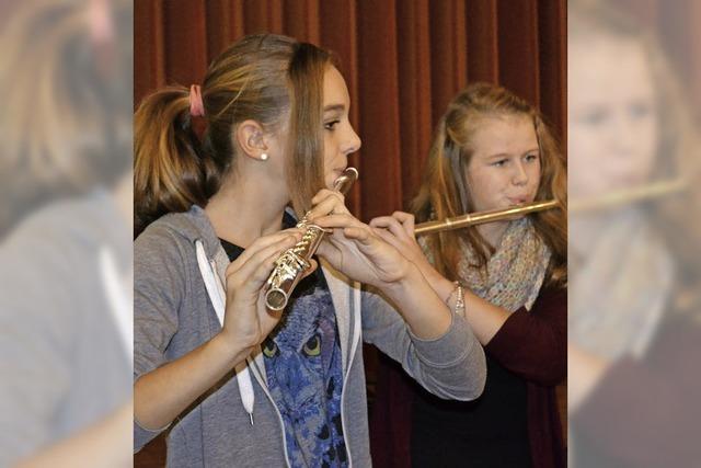 Stadtmusik-Nachwuchs zeigte sein Können
