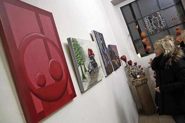 Bilder, Plastiken und Skulpturen