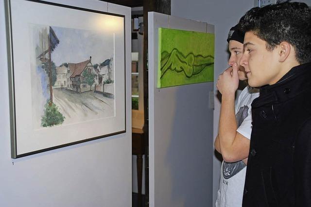 Abbild des Hausener Kunstschaffens