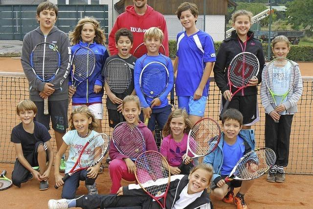 Die jungen Sportler hatten viel Spaß