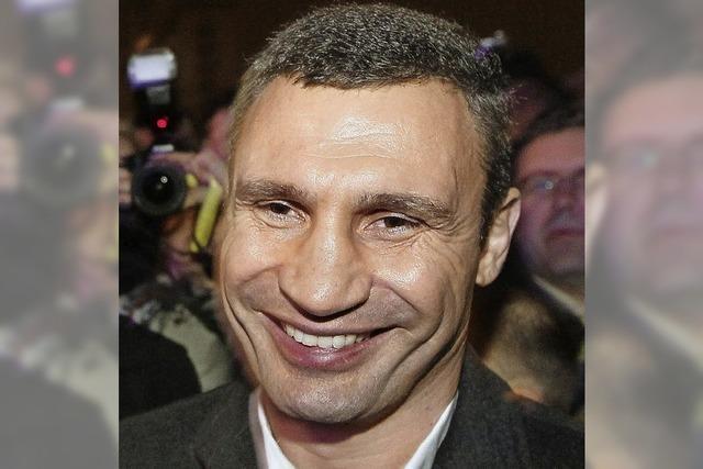 Klitschko: