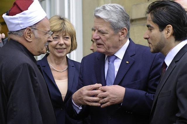 Gauck hilft islamischem Theologen