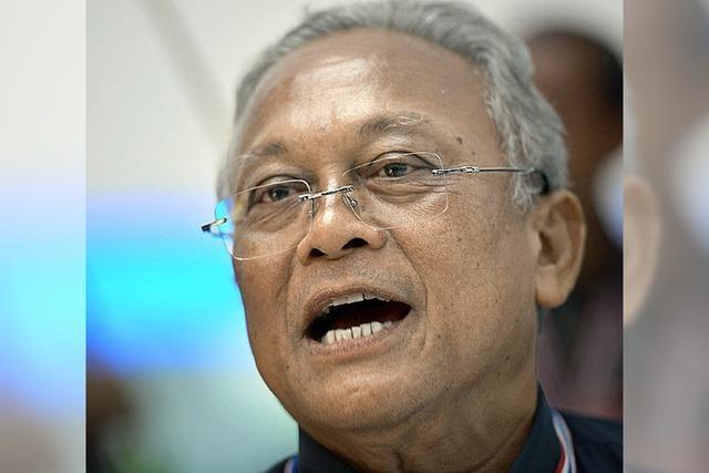 Thailands Oppositionsführer will weiter gegen die Regierung kämpfen