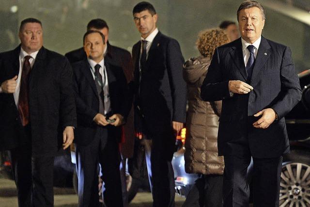 EU hält Tür für Ukraine offen