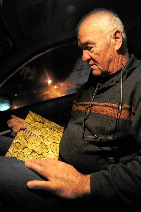 Ein herrlicher Goldschatz – doch... hat, muss sich mit Bildern  begnügen.    Foto: dpa/Marcel Burkhardt