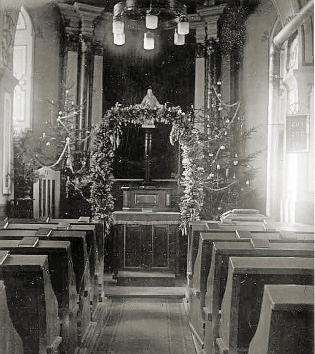 Ein seltenes Foto: Die Schlosskapelle ...NurRepro>Uli Schulze</BZ-FotoNurRepro>  | Foto: Uli Schulze
