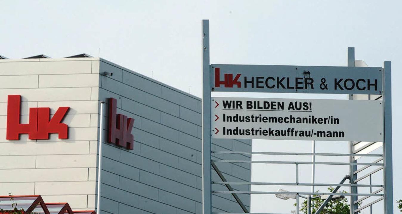 Im Visier der Ermittler: Heckler & Koch  | Foto: dpa