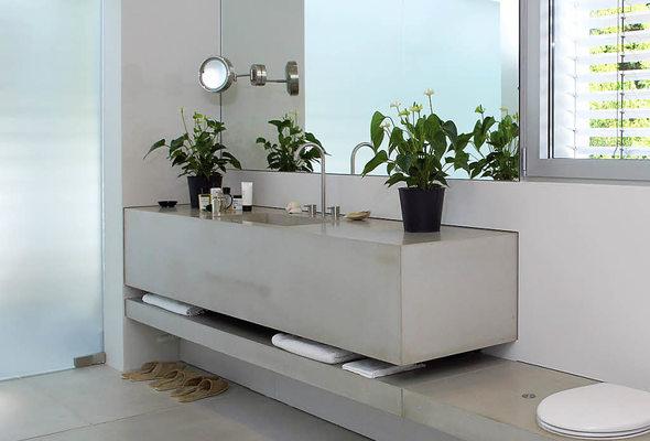 alternativen bad aus beton haus garten badische zeitung. Black Bedroom Furniture Sets. Home Design Ideas