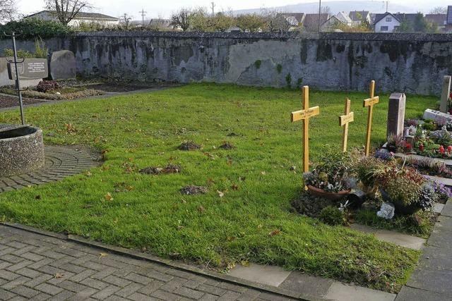 Bis Ostern soll neues Urnenfeld zur Verfügung stehen