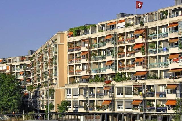 Basel verfügt über so viel Wohnraum wie nie