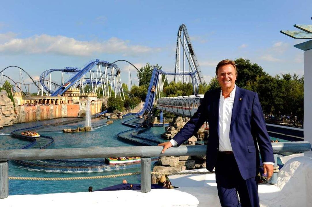 Roland Mack ist Schirmherr des Wettbewerbs Jobmotor.  | Foto: Europa-Park