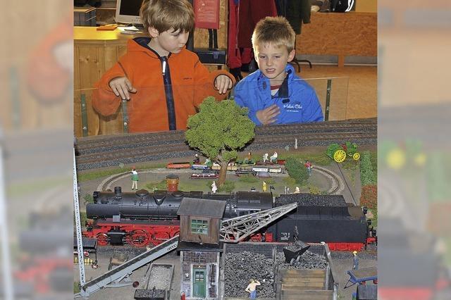 Eine ganze Eisenbahnwelt im Kleinen