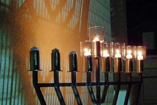 Jüdische Gemeinde feiert Chanukka und fünf Jahre Synagoge