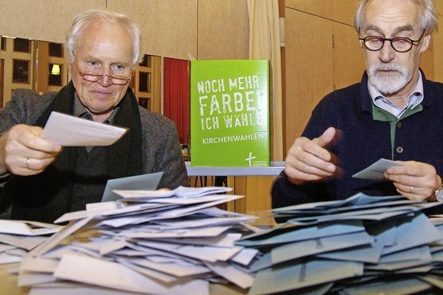 Kirchenwahl: Evangelische Christen bestimmen Gremien in Pfarrgemeinden