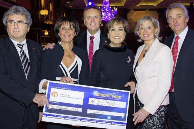 Benefizgala erbringt 83 400 Euro