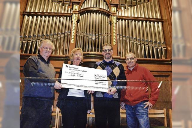 Zugabe für den Orgelklang