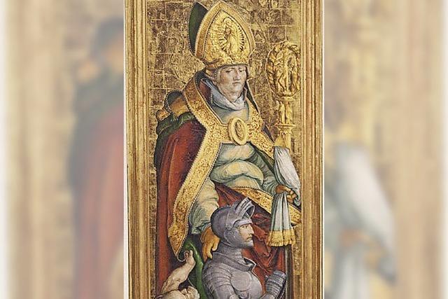 Tafelbild vom Heiligen Martin