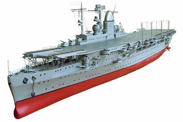 Der einzige deutsche Flugzeugträger wurde nie fertig gebaut