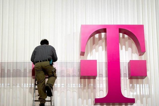 Telekom hält an Geschwindigkeitsbremse fest